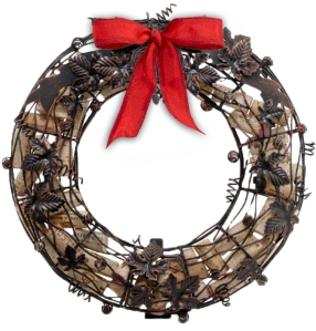 2014 Holiday Happening Cork Cage Wreath Gift with Ticket Purchase
